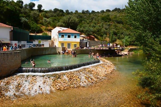 Praia Fluvial Agroal site